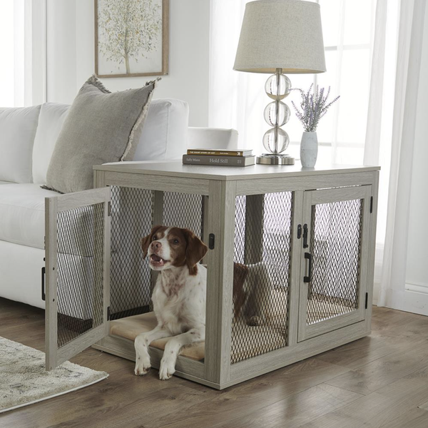 Wooden Dog Crates That Look Like Furniture